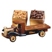 1930-Era Flat Bed Truck - Chocolate Covered Almonds and Jumbo Cashews