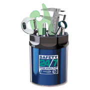 Utility Caddy Metallic Foil