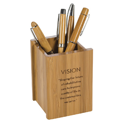 Bamboo Pen Cup