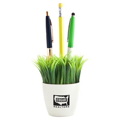 Kikkerland Grass Pen Stand