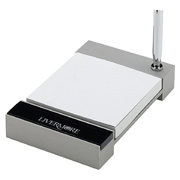 Executive Metal Paper Note Holder