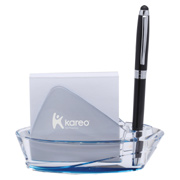 Acrylic Pen and Note Holder