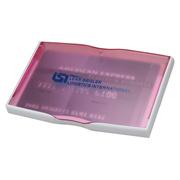Translucent Business Card Holder