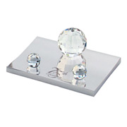 Crystal Ball Business Card Holder