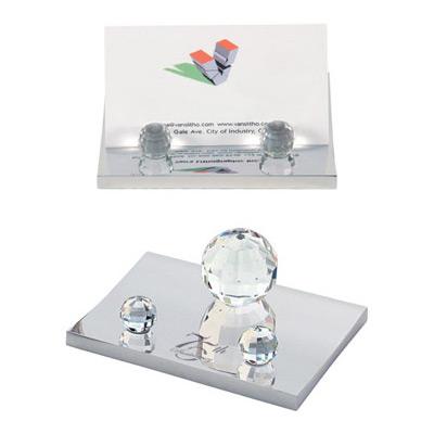 Crystal Ball Business Card Holder