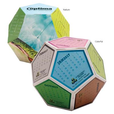 Fun Shapes Sphere Calendar