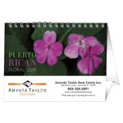 Puerto Rican Floral Desk Calendar