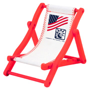 Patriotic Beach Chair Cell Phone Holder
