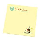 Post-in Custom Printed Notes 4 x 4