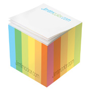 Post-it Custom Printed Notes Mini-Cube - 2-1/8 x 2-1/8