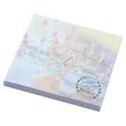 BIC 3x3 Adhesive Spring Notepad - 25 Sheets