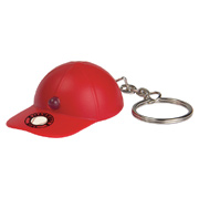 Light Up Baseball Hat Keytag