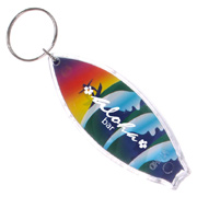 Surfboard Key Chain