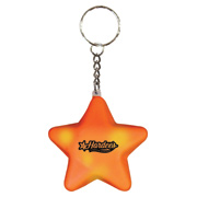 Mood Star Key Chain