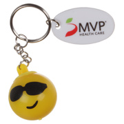 Light Up Emoji Key Chain