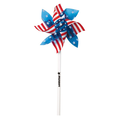 "4"" USA Pinwheel"