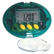 5-in-1 Electronic Step Counter Pedometer