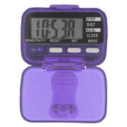 Classic Pedometer With Clock