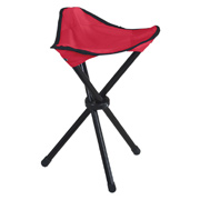Folding Tripod Stool With Carrying Case
