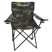 Folding Chair With Carrying Bag - Camo