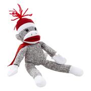 Flying Shrieking Classic Sock Monkey