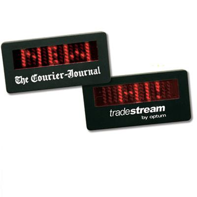 Small LED Animated Name Badge
