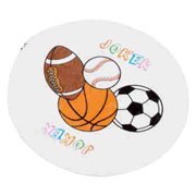 Round Sports Playing Cards
