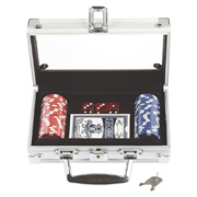 Poker Set With 50 Chips
