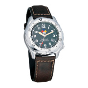 Two-Tone Silver Adventure Watch