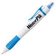 Dual-Tip Ballpoint Pen/Highlighter