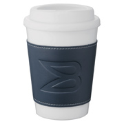 Double-Wall Plastic Tumbler With Wrap - 12 oz.