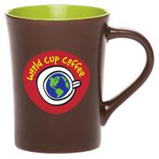 14 oz. Chocolate Ceramic Coffee Mug