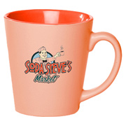 12 oz. Pastel Latte Mug