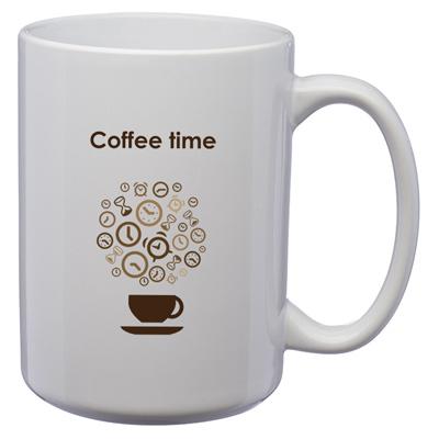 15 oz. Large El Grande Coffee Mug - White
