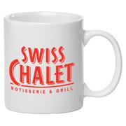 11 oz. Traditional Ceramic Coffee Mug - White