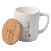 Bamboo Chic Mug With Bamboo Lid