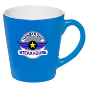 12 oz. Two Tone Bright Latte Mug