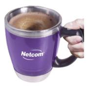 16 oz. Acrylic/Stainless Steel Java Stir Mug