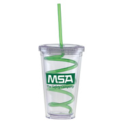 16 oz. Carnival Cup With Curly Straw