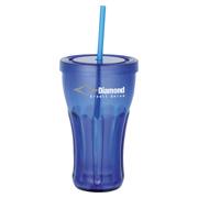 Fountain Soda 16 oz. Tumbler With Straw