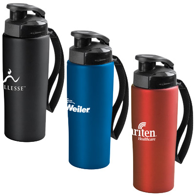 18 oz. Easy-Grip Stainless Water Bottle