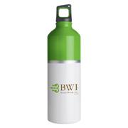 2-Tone Color Spot Aluminum Water Bottle - 25 oz.