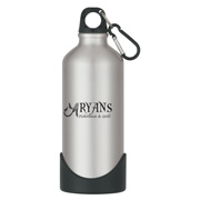 20 oz. Aluminum Bike Bottle With Plastic Base