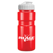 20 oz. Solid Recreation Bottle With Flip Top Lid
