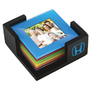 Multi-Colored Photo Coasters