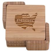 Square Bamboo Coasters