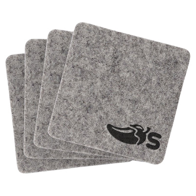 Linden Recycled Felt Coasters - Set of 4
