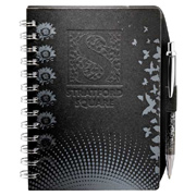 Black JournalBook With Design