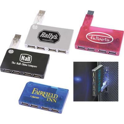 4-Port USB Expansion Hub