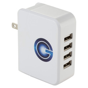 UL Listed Gale 4 Port AC Adaptor